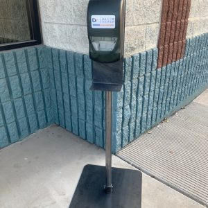 TCHD 1000 heavy duty automatic hand sanitizer station