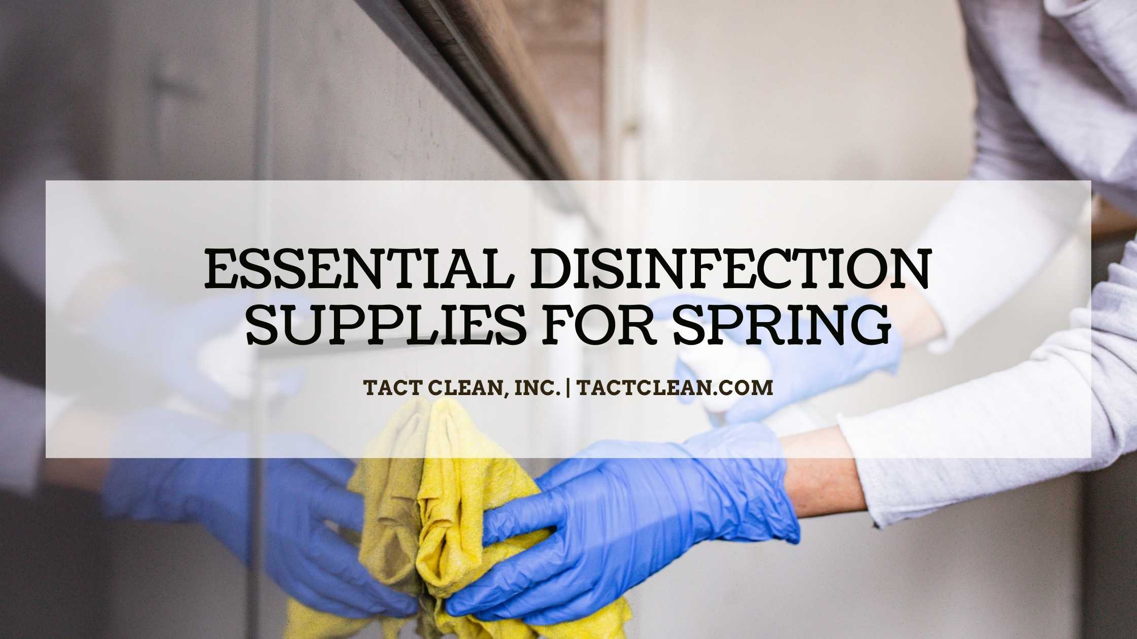 disinfection supplies